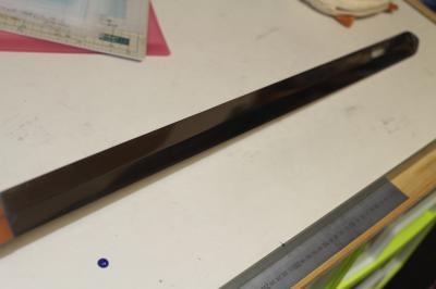 牙狼〈GARO〉 金属刀身魔戒剣 四十万ワタルver 刀身研磨完了