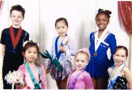 5歳-スケートを始めて1年くらいの時-テキサスの大会で優勝