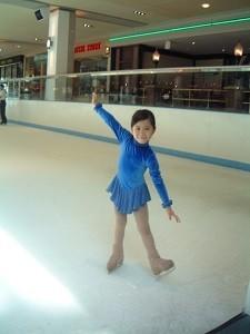 6歳-スケートを始めて2年目くらいの頃