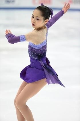 宮原知子さん-2014年四大陸選手権ショートプログラム-この時は銀メダルを獲得しました