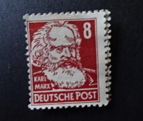 マルクス切手