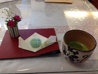 2015年ミニ花展~お茶会2~