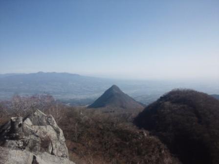 雄岳より水澤山