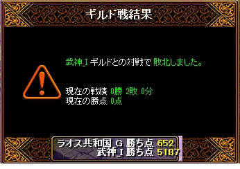 7月16日 ラオスGv VS武神様