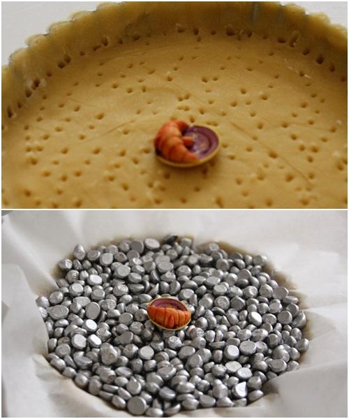 タルト焼く