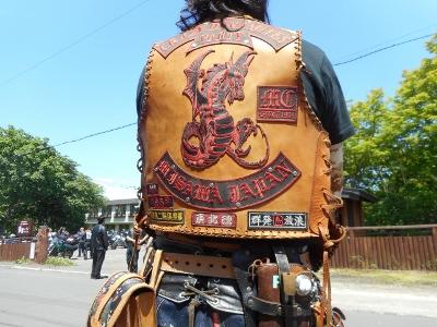 オートバイ・ライダー川湯集合