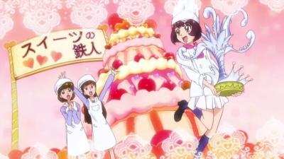 最高のケーキの完成よ!