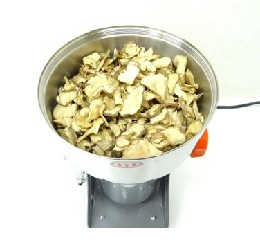 粉砕機ハイスピードミルで菊芋の粉末化