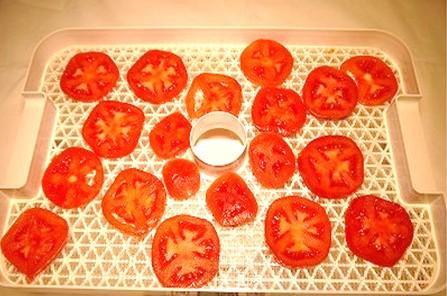 6時間乾燥後セミドライトマト