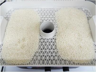 お米の乾燥