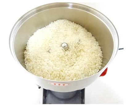 米粉の作り方 ハイスピードミル