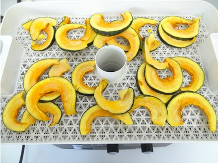 カボチャ野菜乾燥器
