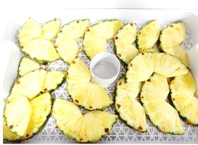 パイナップル乾燥前