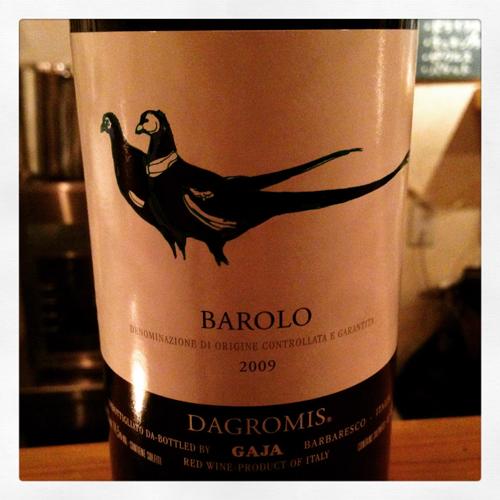 barolo gaja 2009
