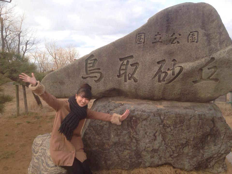 みちるちゃん in 砂丘