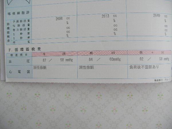 翌年翌々年ドック検査①