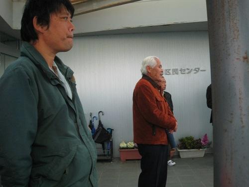 坂部空港対策協議会板倉会長さん挨拶です。