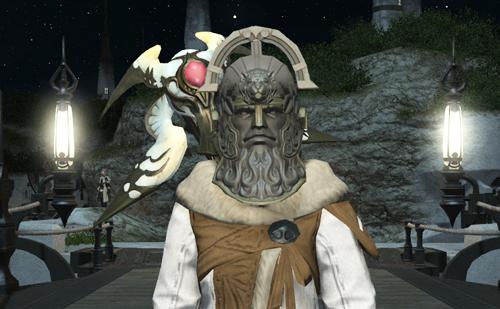変なマスクを手に入れた