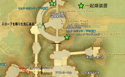 起爆装置の位置