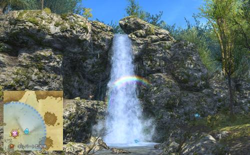 042:中央森林 虹架けの滝