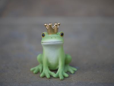 カエルの置物 1
