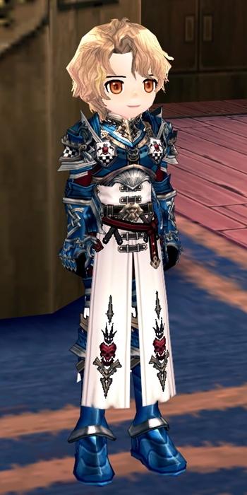 トルヴィッシュ鎧(カツラVer)