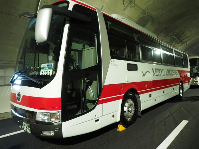 京急バス。木更津横浜線開業時に一番乗りしてますw
