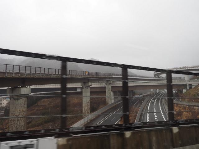 八王子JCT内をグルグル。裏高尾橋はよく下から見上げて撮影していました。