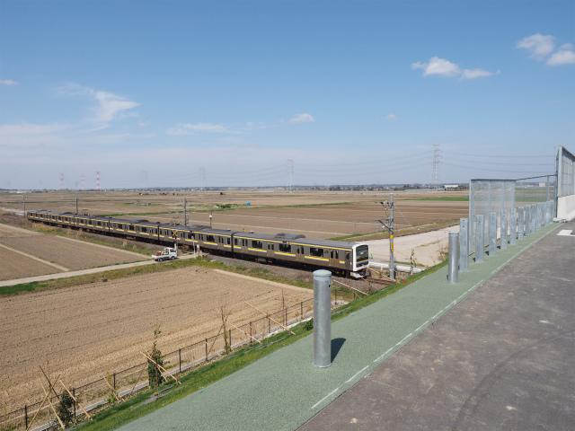 1時間1本位の運行本数なので、帰りの電車に乗り遅れると悲惨です。その上、帰宅後には埼玉区間の一部が開通するので、時間との勝負。