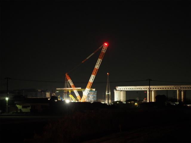 撤収。埼玉栗橋線から現地を。午前3時前後、暗闇の中を桶川駅に向かって歩いてましたw