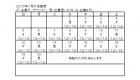はんのき店番表2015年7月
