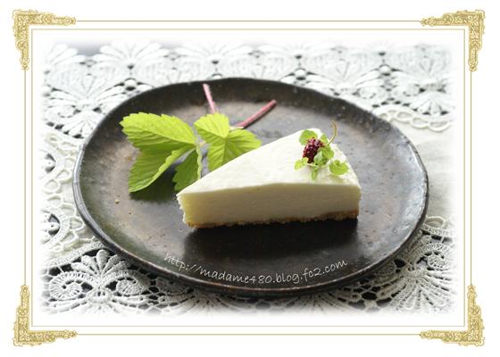 クリームチーズケーキweb用