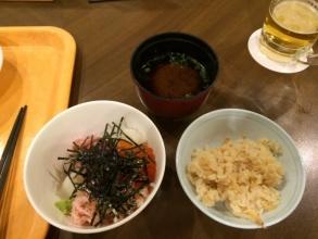 健菜美食ビュッフェ 「るぴなす」! 海鮮丼と炊き込みご飯