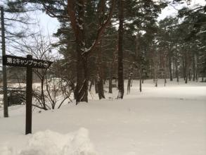 冬の松原湖高原スキー場