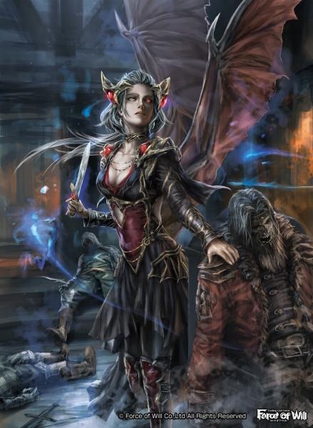 FOW「吸血鬼の女王カーミラ」