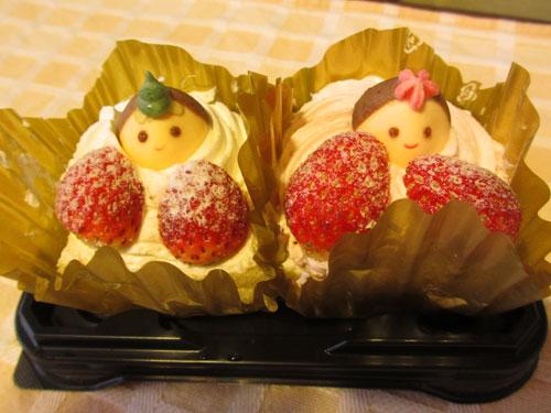 おひなさまケーキ
