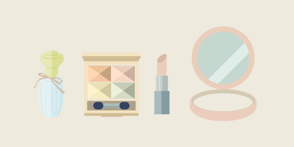 Free illustrations of cosmetics