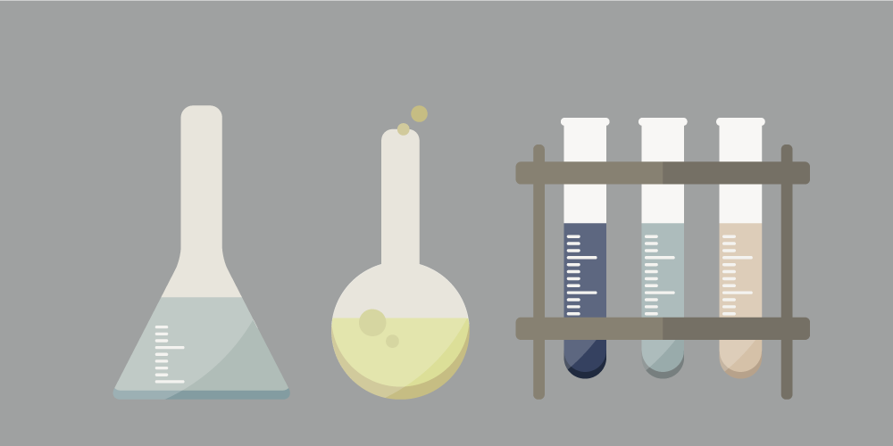Free illustrations of science experiments