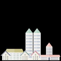 家が立ち並ぶ住宅街