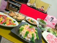 ひな祭りパーティーお料理