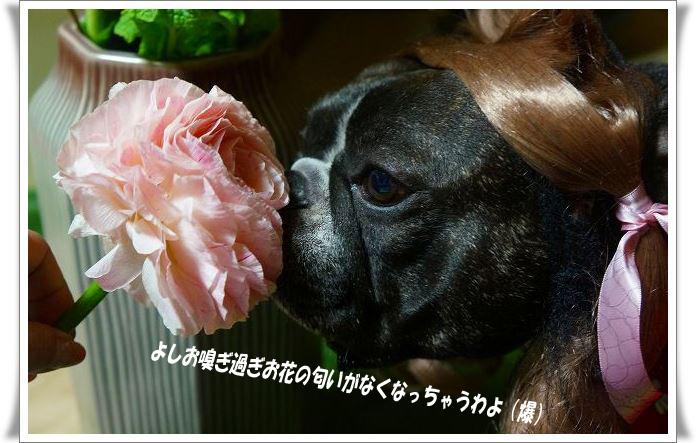 お花の匂い