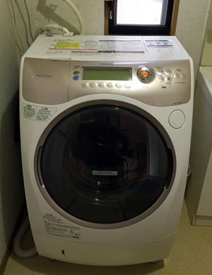 沈黙の洗濯機