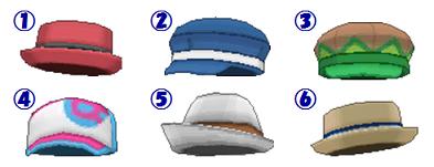 帽子まとめ