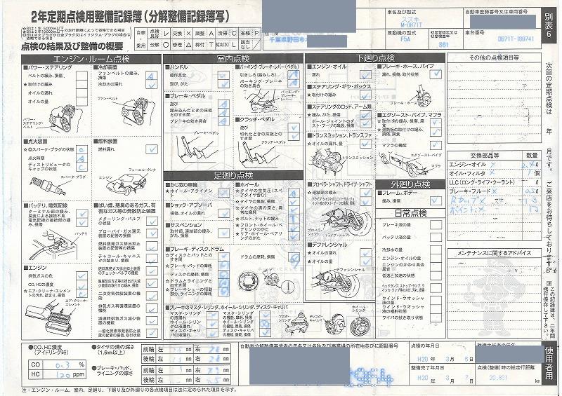 記録簿 (1)