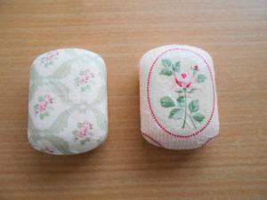 石鹸をデコパージュ