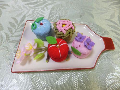 和菓子マグネット1