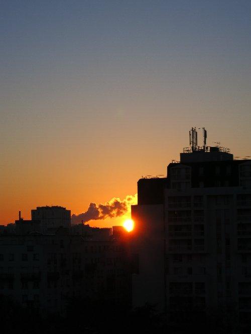 2015年2月22日朝焼け 004