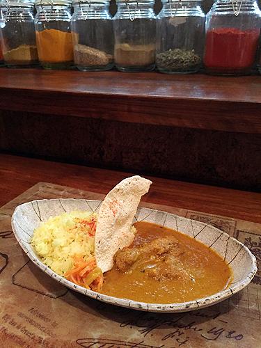 チキンマサラカレーイメージ