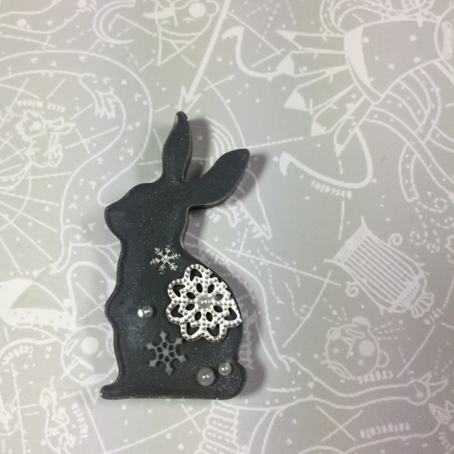 010 レジン シリコンモールド ウサギ.jpg