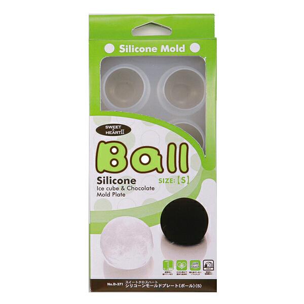 051 UVレジン パール金属 スイートクロスハート2 シリコーンモールド ボール s